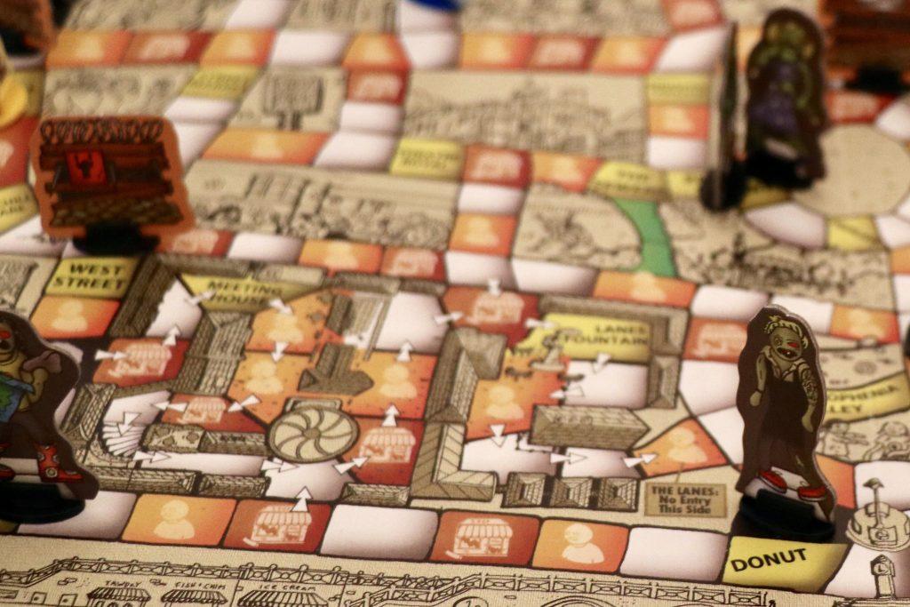 zomBN! tabletop game board